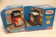 Thomas and Friends Talking Toby R9511 and Talking Flynn, W1369