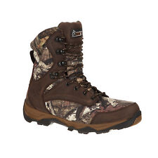 Rocky Mens MOBU Country Leather Retraction WP 800G Hunting Boots