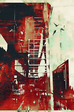 Abstract Art, Abstract Cityscape II