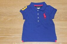BRAND NEW AUTHENTIC RALPH LAUREN GIRLS BIG PONY POLO SHIRTS SIZE 2T