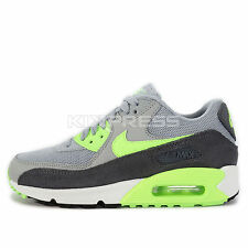 WMNS Nike Air Max 90 Essential [616730-022] NSW Running Wolf Grey/Ghost Green