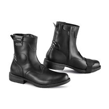 Falco Pepper 2 Black Mens Motorcycle Motorbike Short Boots Size 44 45 46