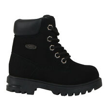 Brand New Lugz TEMPHD-001 Kid's Black Empire HI Wr Hiking Boots