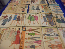 #3 ALL SZ 14 U PICK SEWING PATTERNS MORE THAN PICS VINTAGE 1950S 1960S 1970S