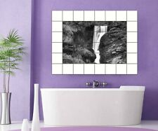 Tile decals Waterfall Tile image Tiles tile Stickers Bathroom Kitchen 8A276