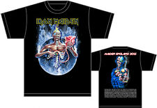 IRON MAIDEN 7th Son, Maiden England Tour 2013 RARE Official Licensed T-shirt