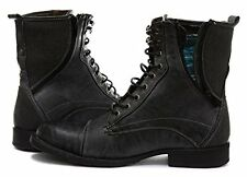 Gola Richman Grey Mens Military Style Boots
