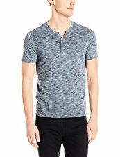 John Varvatos Star USA Men's Short Sleeve Striped Henley - Choose SZ/Color