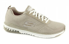 Skechers 12111 AIR INFINITY Ladies Taupe Lace Up Trainers