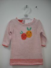 BNWT M&S Knitted Jumper Dress & Matching Tights. Girls. Age 0-18 Months