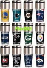 NFL ,NBA,MLB,NHL Team Travel Tumbler 16OZ Stainless Steel Coffee Mug