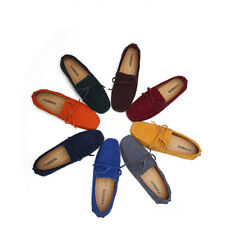 New Unisex Women Mens Casual Suede Loafers Moccasin Driving Slip on Flat Shoes
