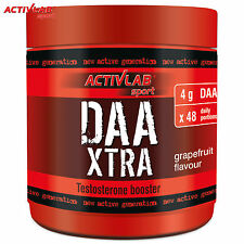 DAA Xtra 240g + Free Shaker D-Aspartic Acid Testosterone Booster Muscle Growth