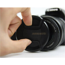 40.5mm 46 52 58  mm Center Pinch Lens Cap Cover f Canon Nikon Sony DSLR Camera