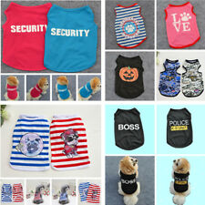 2017 New Various Pet Puppy Small Dog Cat Pet Clothes Dress Vest T Shirt Apparel