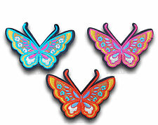 Butterfly Iron Sew On Embroidered Applique Motif Patch *Buy 2 get 25% off* UK