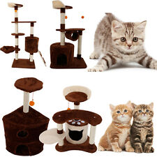 "29"" 36"" 39"" 53"" Cat Tree Tower Condo Furniture Scratching Post Pet Kitty Play"