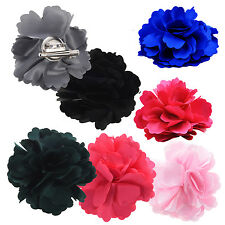 Silk Flower Hair C Wedding Corsage Flower C 8cm U9S6