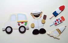 3D - U Pick - FD2 Ice Cream Truck Boy Girl Bear Scrapbook Card Embellishment