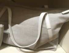 $249  NEW Quality Pottery Barn Kids Monique Lhuillier Gray Diaper Bag Tote