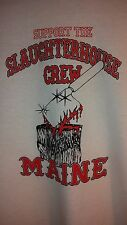 HELLS ANGELS CANAAN MAINE SUPPORT WHITE LONG SLEEVE  SHIRT