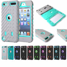Hybrid Hard Defender Slim Armor Case Cover For Apple iPod Touch 5 th / 6 th Gen