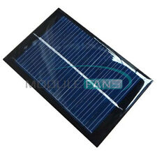 100mA 0.5V/6V 0.6W/1W Epoxy Solar Panel Module Cell Photovoltaic Battery Charger