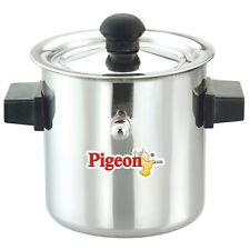 Pigeon Milk Boiler Stainless Steel Silver Induction Compatible Lid 2l 1l 1 5l