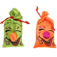 Push me I will Laugh a Lot Ha Ha Laughing Bag Party Prank Naughty Toy Gift Favor
