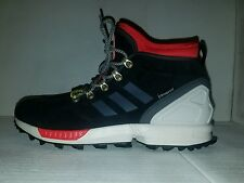 MENS ADIDAS ORIGINALS ZX Flux Winter Shoes Boots 9, 10.5 Black White Red S82931