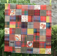 NEW Scottish Tartan tweed patchwork cushion cover 20