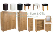 Hamilton Oak Bedroom Furniture - **NEW STYLE** plus FREE UK DELIVERY AVAILABLE