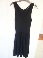 *SAMPLE CLEARANCE*FOREVER NEW BLACK KNIT DRESS SIZE 8