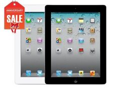 Apple iPad 2 WiFi + AT&T Unlocked | Black or White | 16GB 32GB 64GB - GOOD (R-D)
