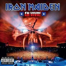 En Vivo! [PA] by Iron Maiden (CD, Mar-2012, 2 Discs, EMI)