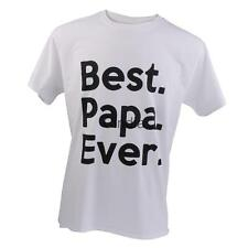 Best Papa Ever Fathers Day Gift Dad Birthday Holiday Saying Slogan Men's T-shirt