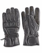 BRAND NEW CRANE Real leather Padded Motorcycle Gloves with 3M Thinsulate padding