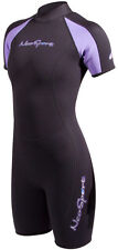 NeoSport by Henderson Women's 3mm neoprene Shorty Wetsuit - Lavender