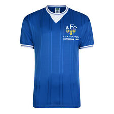 Official Retro Everton 1985 ECWC Final Retro Football Shirt 100% POLYESTER
