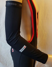 Lusso Cooltech Arm, Leg and  Roubaix Knee Warmers S M XL Black RRP £22.50~£24.99