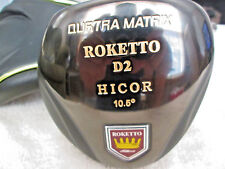 Roketto D2 10.5 Nonconforming ILLegal Hicor Golf Driver choose your Matrix Shaft