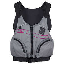 "Fishing Kayak Grey NRS Women's Zoya Mesh Life Jacket Large/XLarge 42""- 52"""