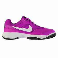 Nike Court Lite Tennis Shoes Womens Violet/White Sports Trainers Sneakers