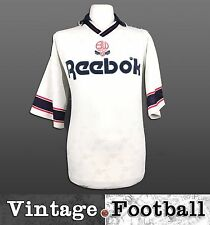Reebok Bolton Wanderers Home Football Shirt 1993/95 (Size: XL) BWFC