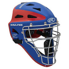 Rawlings Velo Two-Tone Youth Catcher's Helmet CHVELY