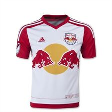 * NWT Adidas New York NY Red Bulls Youth Home Soccer Jersey NYRB MLS White XL *