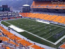 (4) Steelers vs Ravens Tickets Upper Level Under Cover Close to the Aisle!!