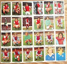 FKS SOCCER STARS 77-78 FOOTBALL FREE  P&P WHEN YOU BUY 6 OR MORE ARSENAL BOLTON