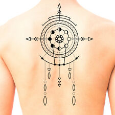 Tribal Shaman Mandala Temporary Tattoo #673 - Temporary Tattoos