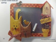 Kitty Cat's Meow Memo Board Painting Pattern Packet by Gail Bell